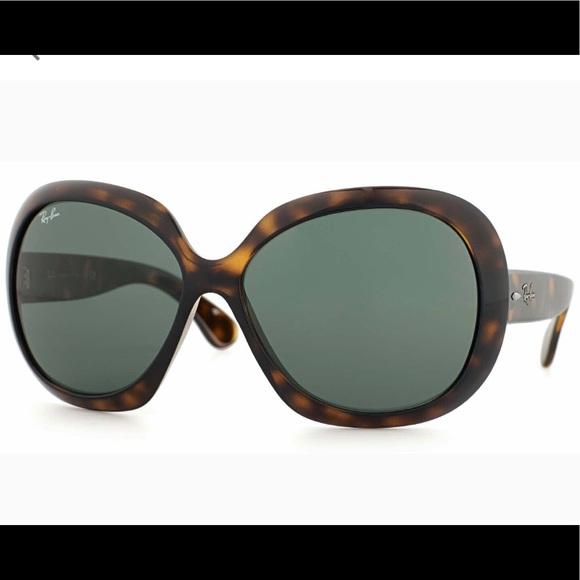 dd4fc4e4f6f Ray-Ban 4098 Jackie Ohh II Tortoise Sunglasses New